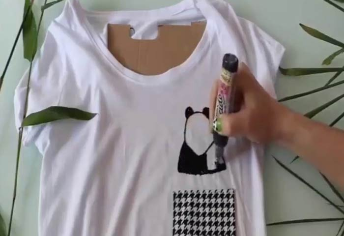6a83b519b Cute DIY T Shirt Cutting Techniques: How to Refashion Oversized,Into ...